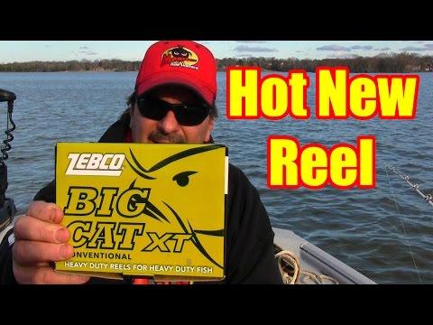Zebco Big Cat XT Bait Casting Reel - Review - Demonstration - SLINGABILITY