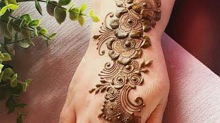 Easy mehndi design for beginners | mehendi design for hand