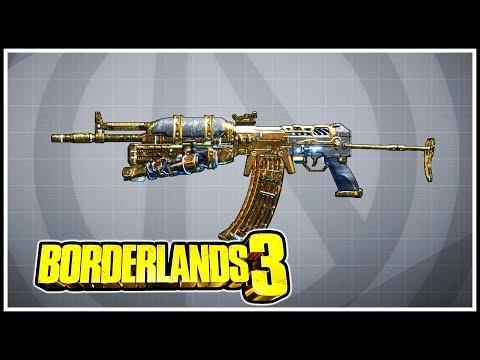 The Dictator Borderlands 3 Legendary Showcase
