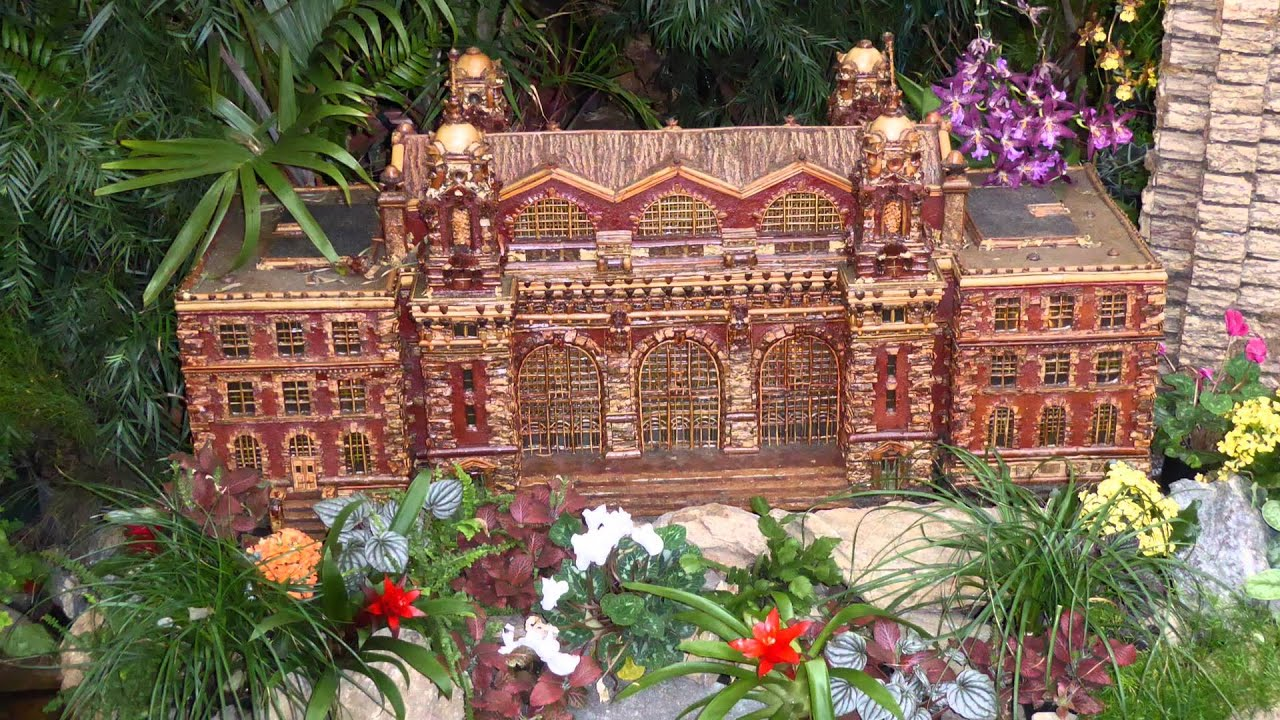 Ny botanical garden train show youtube Botanical garden train show