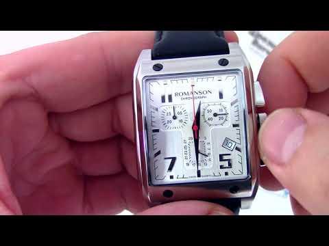 Часы Romanson TL3217 HM - видео обзор от PresidentWatches.Ru