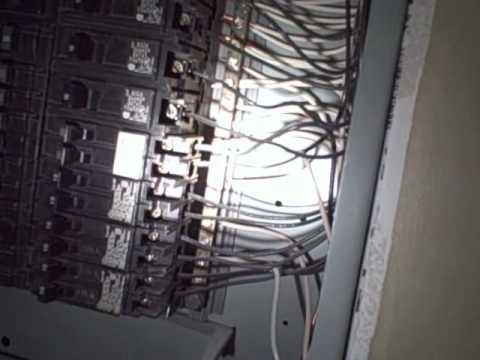 Unsafe Remodeling Electrical Issues Found By Nashville Home Inspector.wmv