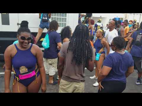 St kitts and nevis carnival jouvert sugar mas 2018