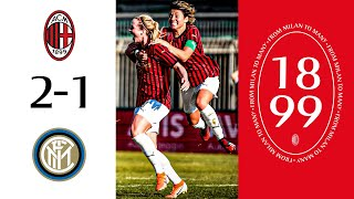 Highlights | AC Milan 2-1 Inter | Matchday 14 Serie A Women 2019/20