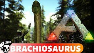 Brachiosaurus - Jeden z Największych Roślinożerców w ARK Survival Evolved | Rizzer ARK Na Modach