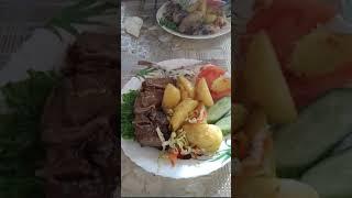 После больничной диеты)))