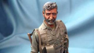 Israeli Captain, Golani BDE 1985, 1/16 scale Verlinden