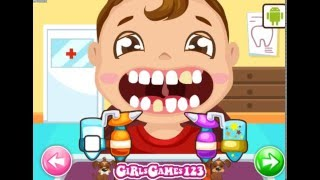 Baby at the Dentist (Лечить зубы малыша) - прохождение игры