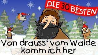Von drauss' vom Walde komm ich her - Weihnachstlieder zum Mitsingen || Kinderlieder