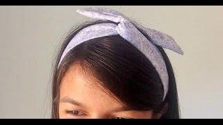 Vídeo Aula- Faixas de cabelo com arame