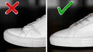 HOW TO PREVENT SHOE CREASES | 7 Easy Hacks To Avoid Creasing