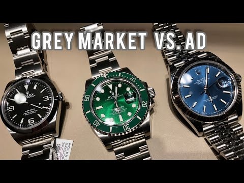 Download Buying Rolex from AD vs. Grey Dealer (My $0.02)