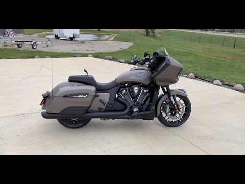 2021 Indian Challenger Dark Horse - Bronze Smoke - Quick Walkaround
