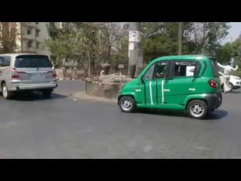 Bajaj Qute (RE60) CNG City Run - Thane - MH, India