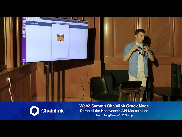 Chainlink Web3 Summit HackerNode: Demo of the Honeycomb API Marketplace