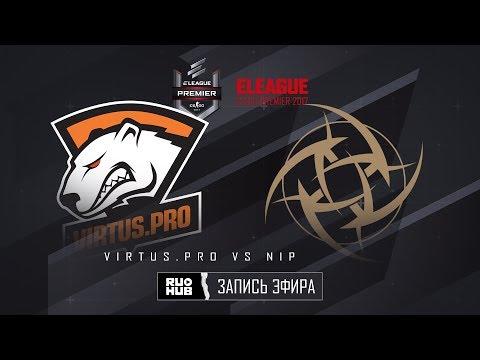 Virtus.pro vs NiP - ELEAGUE Premier 2017 - map1 - de_overpass [ceh9, MintGod]