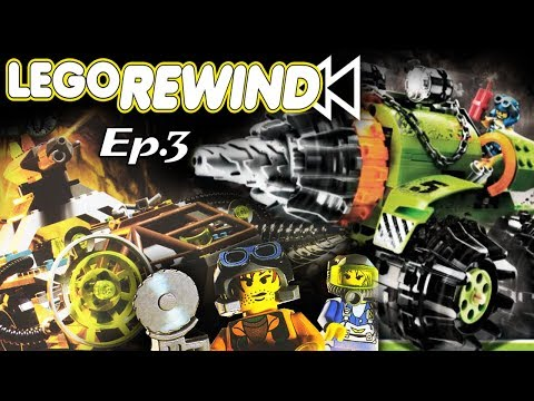 Lego Rewind Ep.3-  Rock Raiders/Power Miners