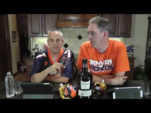 Dewar's 12 and 2014 NFL football picks Scotch Test Dummies whisky review