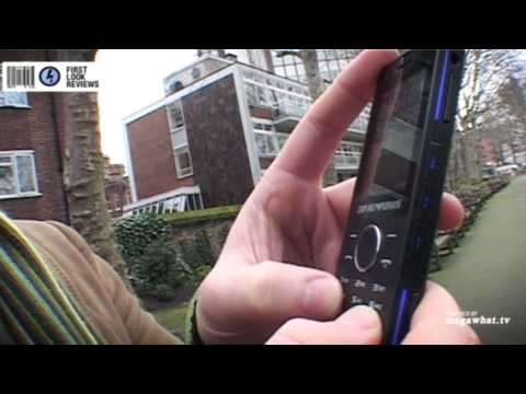 First Look Reviews: Samsung Armani Night Effect mobile phone