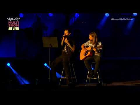 Adam Levine ( Maroon 5 ) - The Girl From Ipanema *cover* - ROCK IN RIO 2017