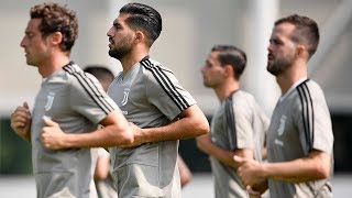 Juventus pre-season training - Day One