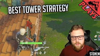 BEST TOWER STRATEGY - Fortnite Battle Royale #5 (PC Epic Games - Fortnite BR Gameplay)