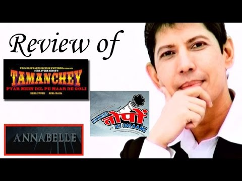 The zoOm Review Show - Tamanchey, Ekkees Toppon ki Salaami, Annabelle -  Movie Review