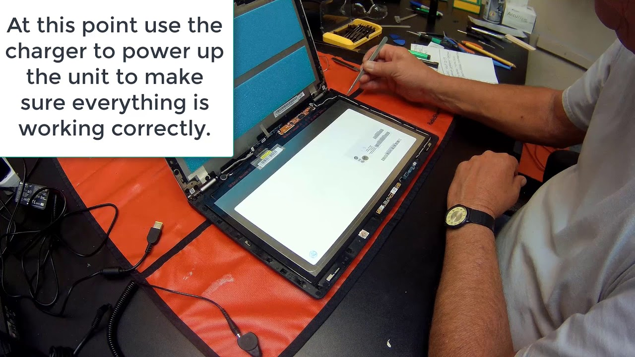 Lenovo Yoga 2 13 Screen Assembly Replacement Procedure