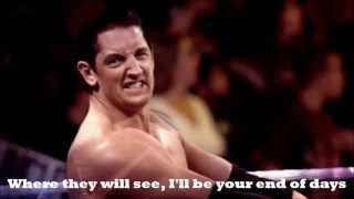 "Wade Barrett Theme:""End Of Days""(V5-6) with Lyrics"
