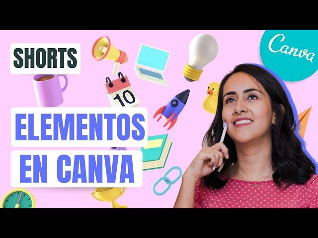 GRATIS: ELEMENTOS ESCONDIDOS EN CANVA | Shorts Diana Muñoz