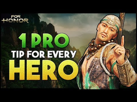 [For Honor] 1 Pro Tip for every Hero (HIGH LEVEL)