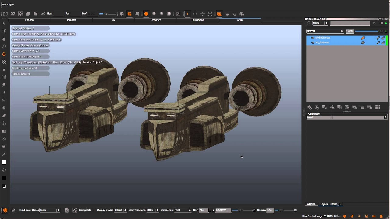 Mari 2. 6 environment lighting   cg tutorial.