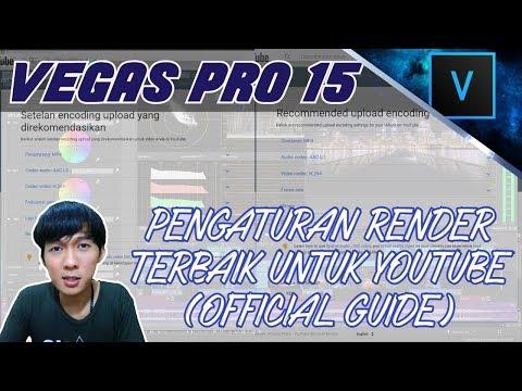 Trik Render Video HD Optimized Dengan Ukuran File Kecil di SONY VEGAS.