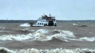 Wild waves on Lake Erie - Part 1 - 2011_09300032.AVI