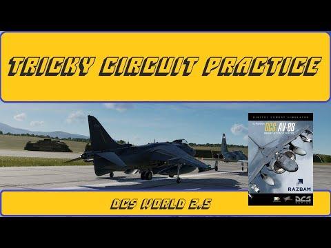 Flight Training: Circuit Practice in a Flight Simulator | DCS World 2.5