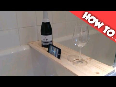 How To Make A Wooden Bath Caddy Youtube