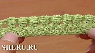 Вязание крючком. Блок столбик Урок 40 часть 1 из 7