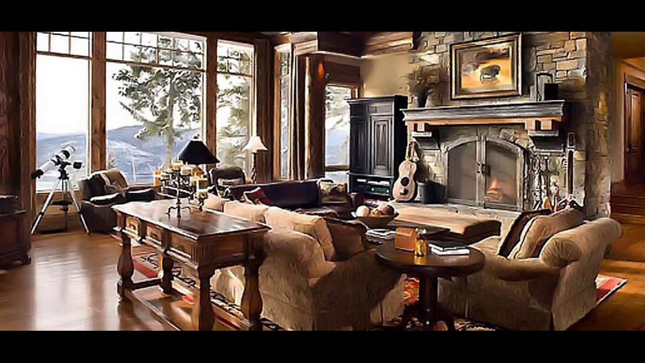 Cabin Living Room Furniture - YouTube