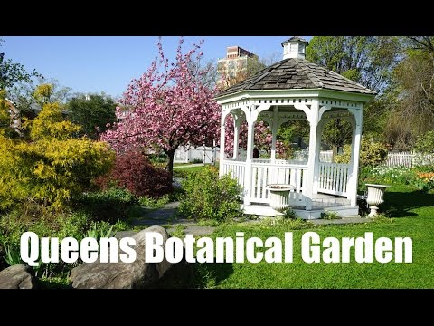 Queens Botanical Garden in New York - YouTube