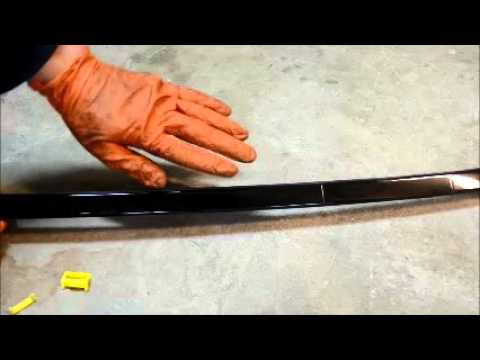 Bmw E46 E36 E90 Roof Rail Trim Moulding Removal And