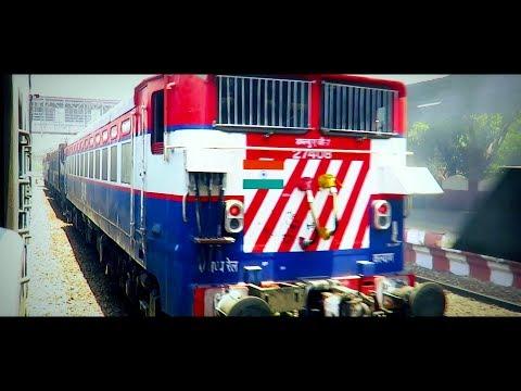 PUNE to NEW JALPAIGURI Full Journey | 2017 NFR Trip Part1 | Traversing Maharashtra and Chhattisgarh
