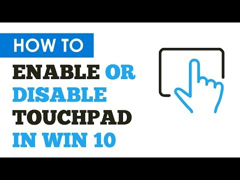 Enable Or Disable Touchpad In Windows 10 Easily