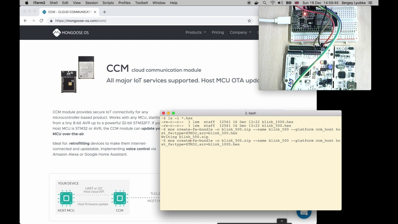 CCM - CLOUD COMMUNICATION MODULE