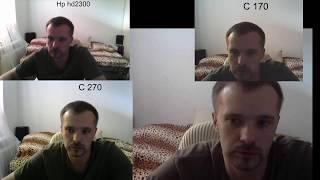 сравнение камер hp hd2300,logitech: C170, C270, C310