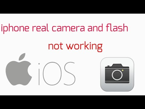 iphone (5/5s/6/6s) real camera problem and flashlight disabled problem