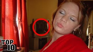 Top 10 Scary Things Hidden In Pictures - Part 4