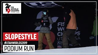 Silje Norendal | Silver Medal | Ladies' Slopestyle | FIS Snowboard World Championships