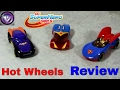 DC Superhero Girls Hot Wheels unboxing and review
