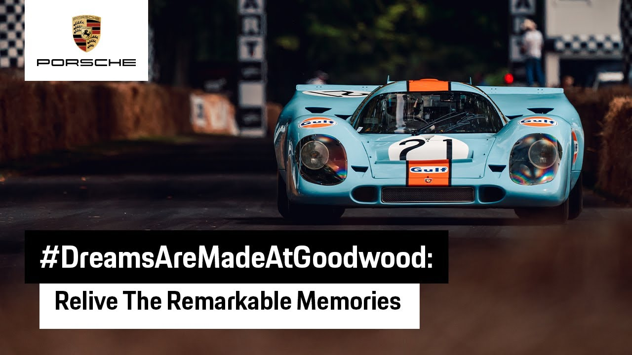 Porsche Memories from Goodwood Festival of Speed