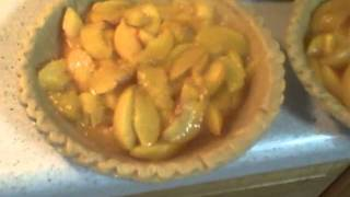 Lifewithd Baking Peaches And Cream Pie Part 2